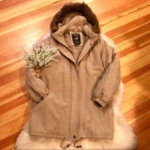 Jackets & Blazers - FLASH SALE trendy oversized down parka genuine fur